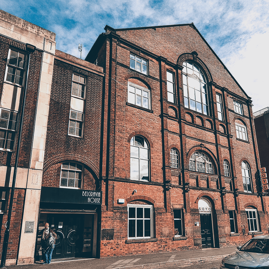 Pine Media HQ at Belgravia House in Sheffield